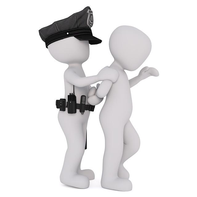 policista se zlodějem