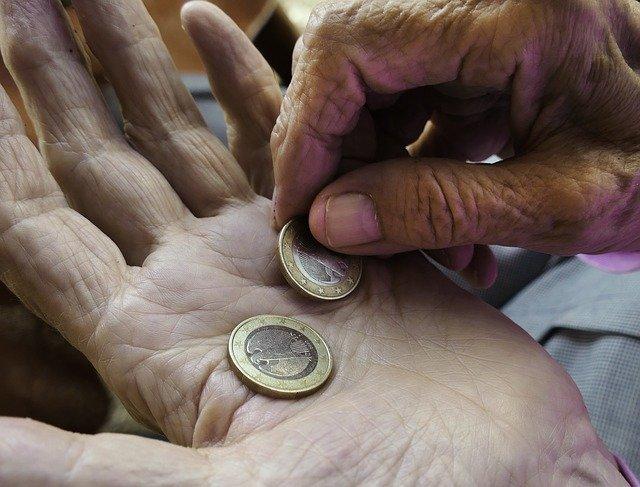 důchod v eurech