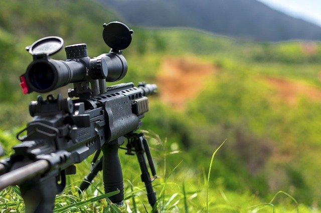 puška odstřelovače