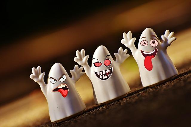 halloween duchové