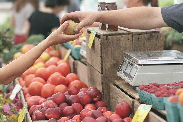 zemědělský trh