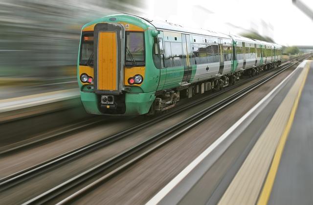 rychlost vlaku