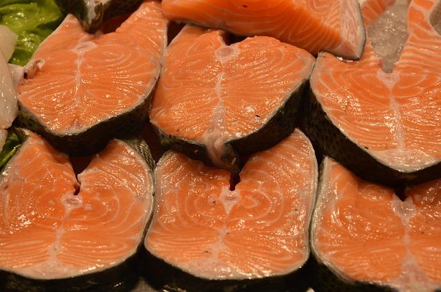 Protein v podobě rybího steaku