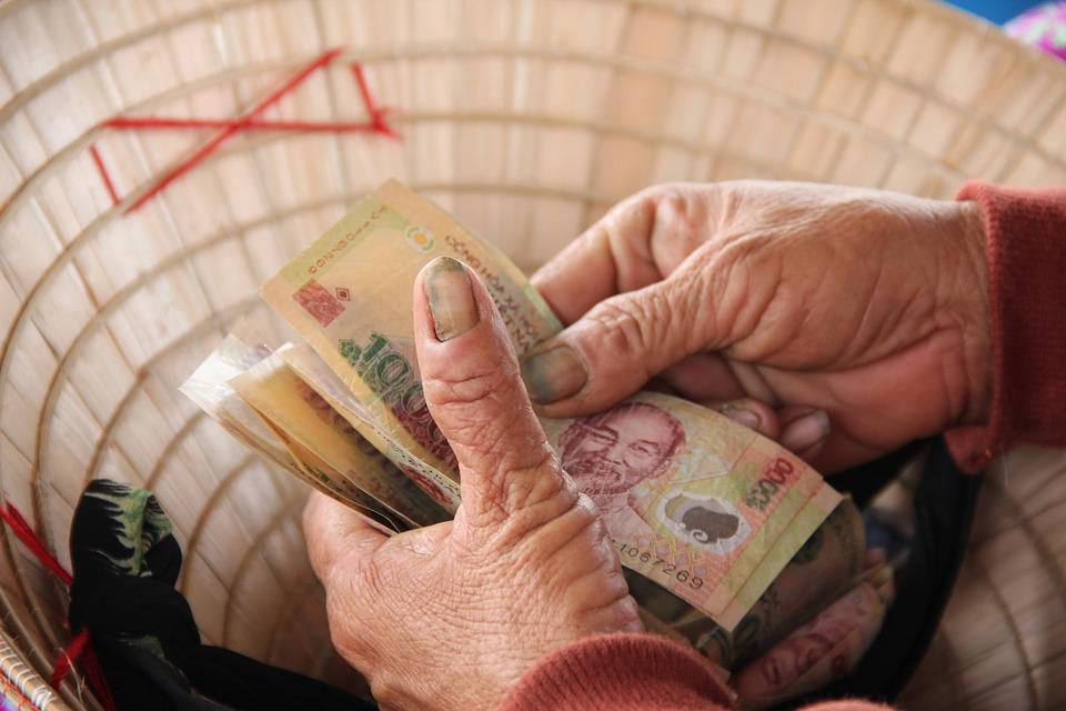 vietnamské peníze